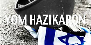 Yom Hazikaron. And that buzz that touches your soul