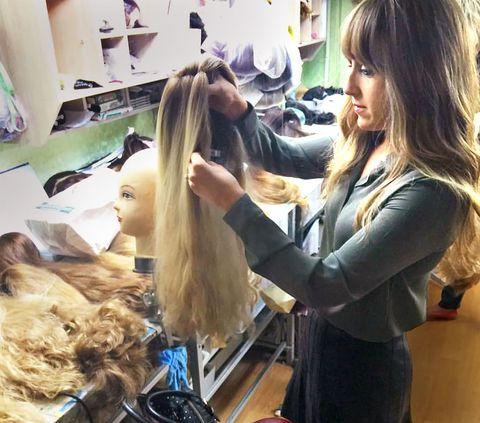 La parrucca come mezzo di consacrazione